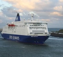 The DFDS King Seaways at IJmuiden